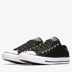Converse All-Star Sequin Chuck Taylors Sneakers
